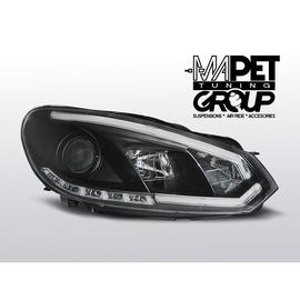 VW Golf 6 - BLACK TUBE LIGHT DRL - Światła jazdy dziennej - LPVWI5