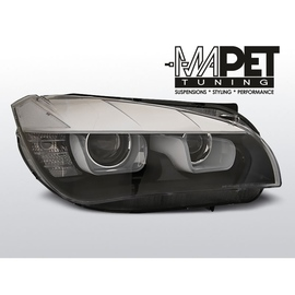 BMW X1 E84 TUBE LIGHT BLACK BIXENON DRL ze światłami dziennymi LPBME6