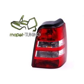 VW Golf 3 Variant  clearglass Red / White Czerwono/Białe  LTVW48