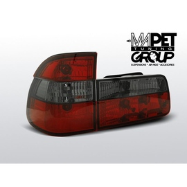 BMW E39 Kombi  CLEAR Red / Black Czerwono-dymione  LTBM30