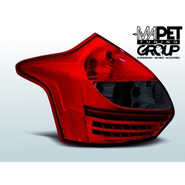 Ford Focus 3 red / black LED - diodowe LDFO39