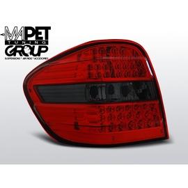Mercedes M-klasa (W164) Red / Black LED DIODOWE  LDME93