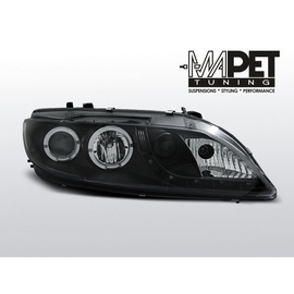 Mazda 6 02-07 DAYLIGHT BLACK LED + RING LPMA04