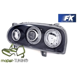 VW Golf 3 Clearglass Angel Eyes BLACK Soczewkowe LPVW48 DEPO