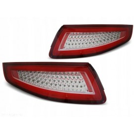 Lampy tył PORSCHE 911 997 RED WHITE LED diodowe LDPO26