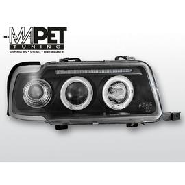 Audi 80 B4 Angel Eyes Black - Ringi - LPAU30