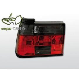 VW Jetta 2  clearglass Red / Black LTVW29