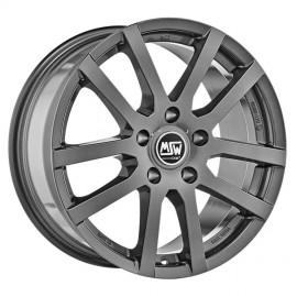 Felga aluminiowa MSW 22 5,5x14 4x100 ET35 GREY SILVER