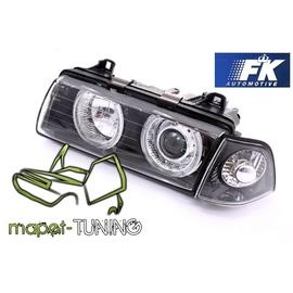 BMW E36 Sedan / Compact / Touring Angel Eyes BLACK FK LPBM21
