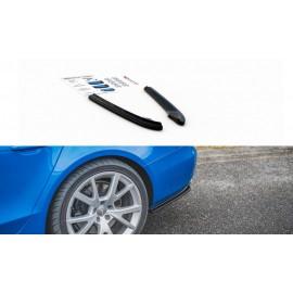 Splittery Boczne Tylnego Zderzaka ABS - Audi S4 / A4 S-Line B8 Sedan