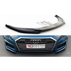 Przedni Splitter / dokładka ABS (ver.1) - Audi A6 C8 S-Line / S6 C8