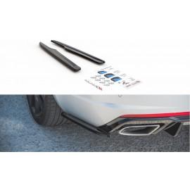Splittery Boczne Tylnego Zderzaka ABS (ver.2) - Skoda Octavia RS Mk3/Mk3 FL Hatchback/Kombi