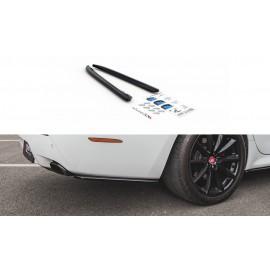Splittery Boczne Tylnego Zderzaka ABS - Jaguar XJ X351