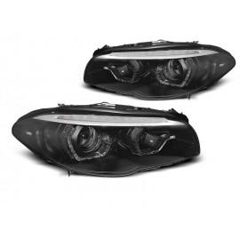BMW F10/F11 10-13 AE LED BLACK SEQ DRL XENON LPBMM4