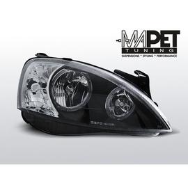 Opel Corsa C clearglass Black Angel Eyes   FK  LPOP93