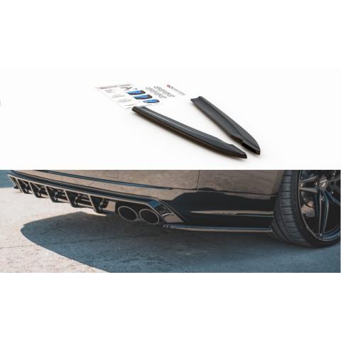 Splittery Boczne Tylnego Zderzaka ABS (Ver.2) - Audi S8 D4 Facelift