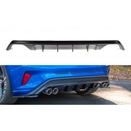 Tylna Dokładka z Wydechem Ford Focus MK4 ST-line