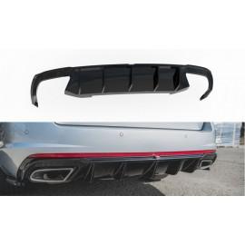Dyfuzor Tylnego Zderzaka ABS (Ver.2) -  Skoda Octavia RS Mk3 / Mk3 FL Hatchback / Kombi