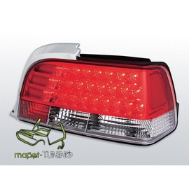 BMW E36 Coupe / Cabrio CLEAR Red/White LED LDBM03