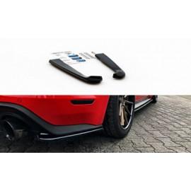Splittery Boczne Tylnego Zderzaka ABS - Ford Mustang MK6 GT 2014-