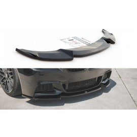 Przedni Splitter / dokładka ABS (V.3) - BMW 5 F10/F11 M-Pack