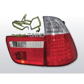 BMW X5 E53 Clear Red/White  Led diodowe LDBM21