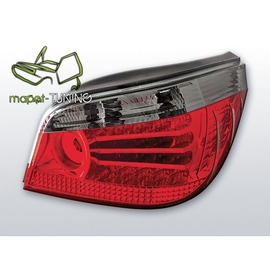 BMW E60 Sedan  Claer Red/Black LED Diodowe LDBM17