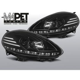 FIAT PUNTO EVO 10.09-12 BLACK DRL LED diodowe dzienne LPFI28