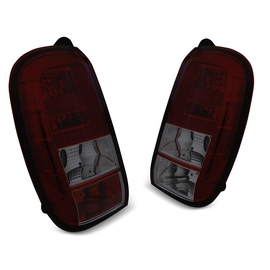 DACIA DUSTER 04.10- SMOKED RED  LED BAR diodowe LDDA03