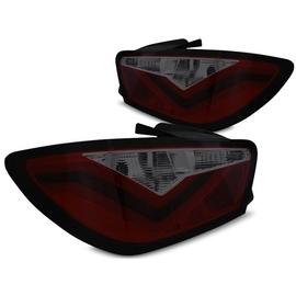 Seat Ibiza 6J 08-12 - RED SMOKED  LED BAR - diodowe LDSE22