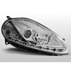 Fiat Grande Punto 08-09  - CHROM LED - diodowe LPFI25