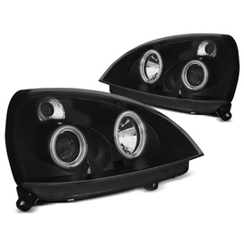 Renault Clio 2  01-05   Angel Eyes CCFL BLACK - ringi LPRE34