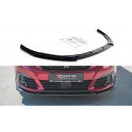 Przedni Splitter / dokładka ABS (wer.1) - Peugeot 308 II GTI 2015 -