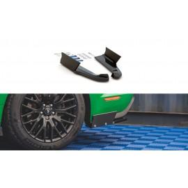 Splittery Boczne Tylnego Zderzaka + Flaps V.1 ABS - Ford Mustang GT Mk6 Facelift