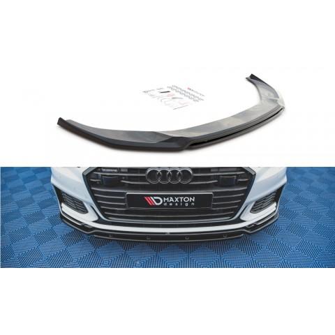 Przedni Splitter / dokładka ABS (ver.3) - Audi A6 C8 S-Line / S6 C8