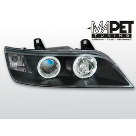 BMW Z3 Angel Eyes BLACK czarne Ringi LPBM47