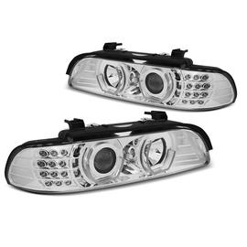 BMW E39 - CHROM LED Angel Eyes 3D / kierunkowskaz LED LPBM05