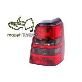 VW Golf 3 Variant  clearglass  Red / White  Czerwono/Czarne  LTVW88