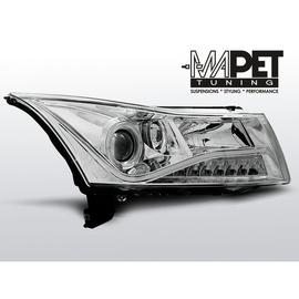 Chevrolet CRUZE 09-13 - Daylight CHROM LED + RING LPCT03
