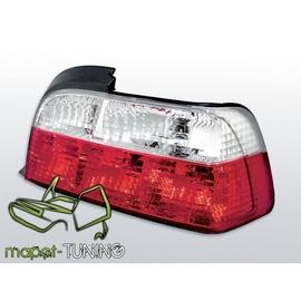 BMW E36 Coupe / Cabrio  - clearglass  Red/White LTBM02