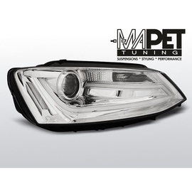 VW Jetta VI - CHROM Tube Light LED DRL jazdy dziennej - diodowe  LPVWK7