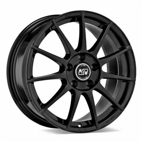 Felga aluminiowa MSW 85 7x17 4x108 ET38 GLOSS BLACK