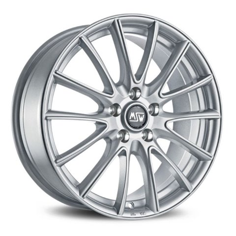 Felga aluminiowa MSW 86 6,5x16 4x108 ET38 FULL SILVER