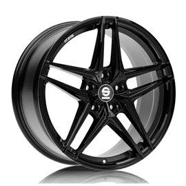 Felga aluminiowa SPARCO RECORD 8x19 5x108 ET45 GLOSS BLACK