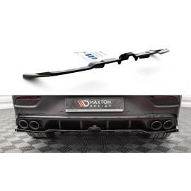 Splitter Tylny Środkowy (Z Dyfuzorem) - Mercedes-AMG GLE Coupe C167