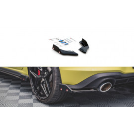 Splittery Tylne Boczne + Flapsy ABS (V.1) - Volkswagen Golf 8 GTI Clubsport