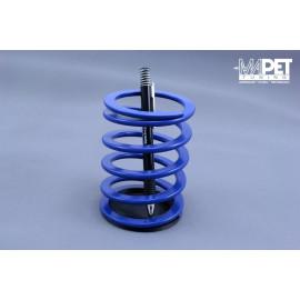 Stojak na długopisy na biurko MAPET-TUNING BLUE