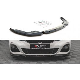 Przedni Splitter / dokładka ABS (V.5) - BMW 3 G20 / G21 M-Pack
