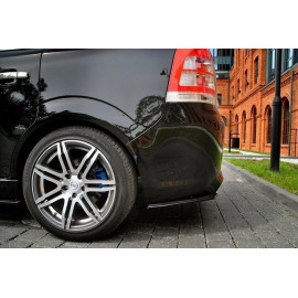 Splittery Boczne Tylnego Zderzaka ABS - Opel Zafira B OPC/VXR