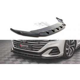 Przedni Splitter / dokładka ABS (wer.1) - Volkswagen Arteon R-Line Facelift